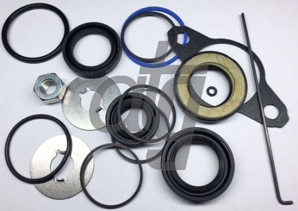 Steering rack repair kit<br><br>Toyota Camry Crimped Housing (1/91-8/99)<br> Toyota Avalon All (9/94-1/96)<br> Lexus ES300<br> Lexus RX300<br> Toyota Sienna (8/97-4/01)<br><br>