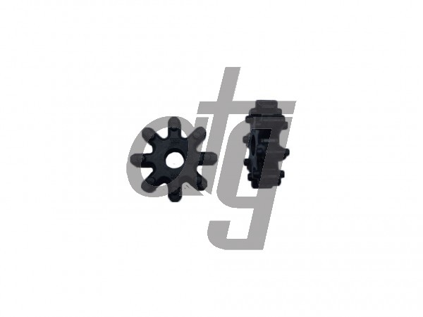 Plastic connection rotor for EPS motor<br><br>EPS Hyundai I30<br> Elantra<br> Kia Ceed<br><br>