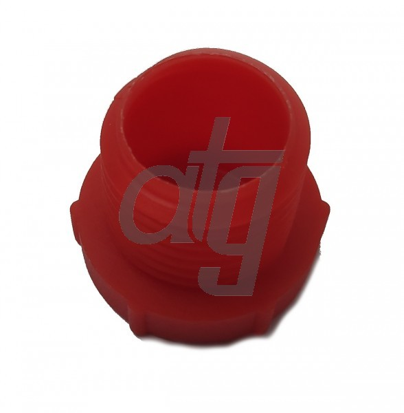 Plastic plug (with screw)<br><br>D-16.00<br><br>