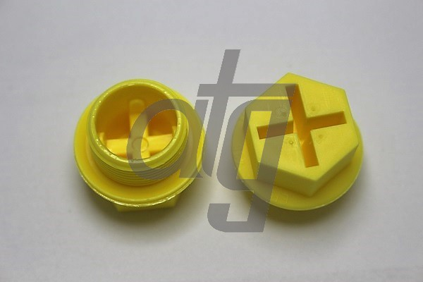 Plastic plug (with screw)<br><br>24/1.5<br><br>