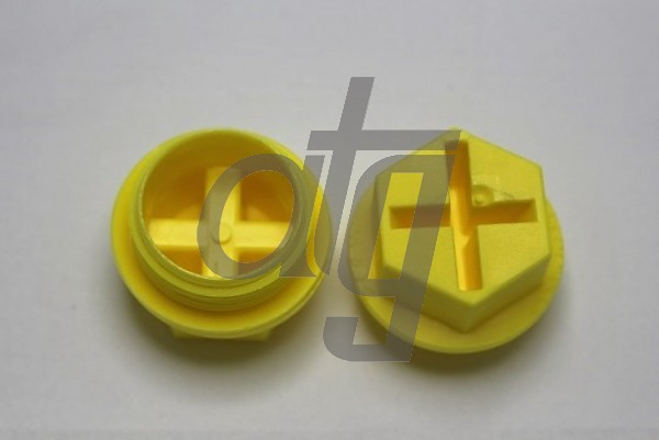 Plastic plug (with screw)<br><br>26/1.5<br><br>