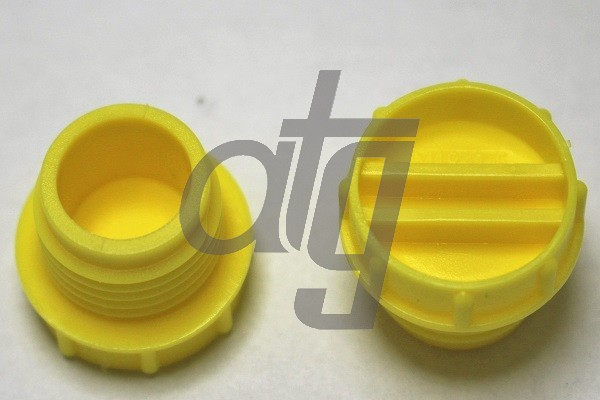 Plastic plug (with screw)<br><br>18/1.5<br><br>