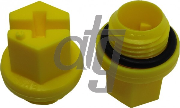 Plastic plug (with screw)<br><br>10/1,5<br><br>