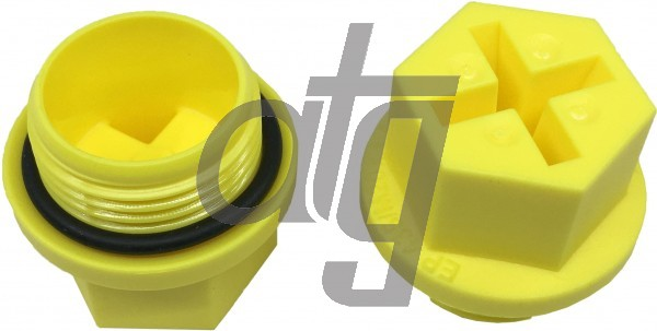 Plastic plug (with screw)<br><br>15/1.5<br><br>