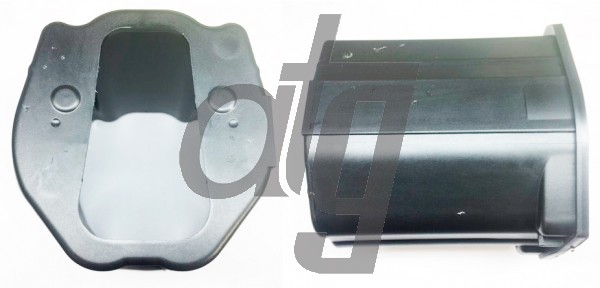 Steering rack control unit cover<br><br>MERCEDES E-Class 2017-<br><br>