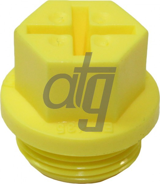 Plastic plug (with screw)<br><br>22/1.5<br><br>