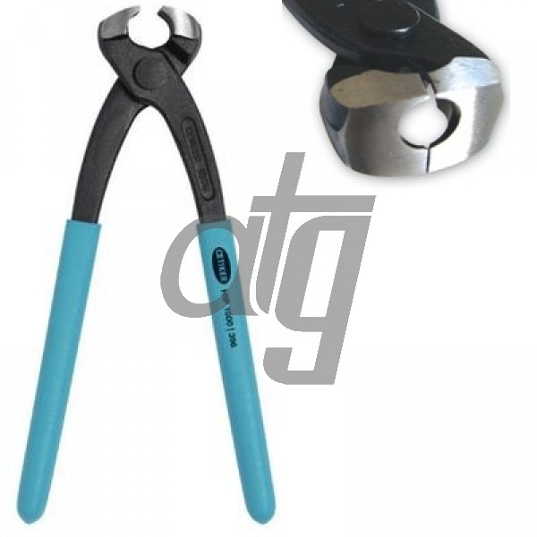 Hand installation pincers<br><br>For hose clamp fitting<br> Side jaw pincer