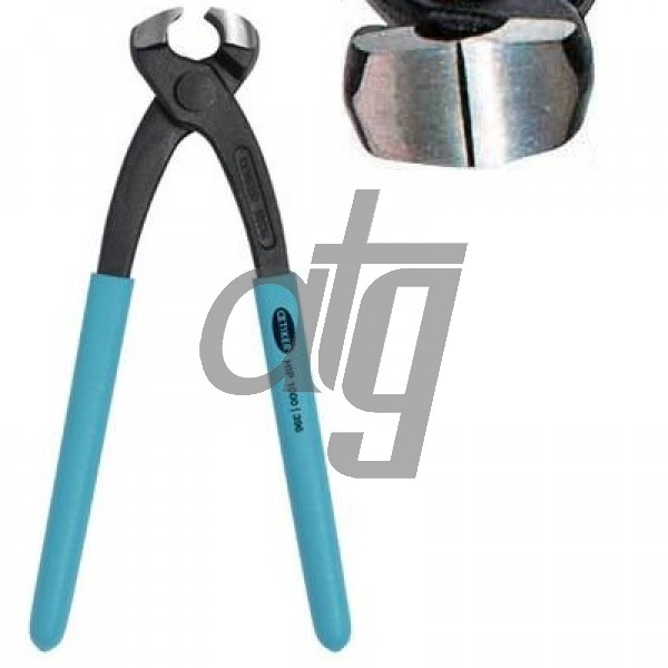 Hand installation pincers<br><br>For hose clamp fitting<br> Standard jaw pincer